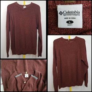 COLUMBIA MEN'S CASUAL SWEATER  SIZE LARGE